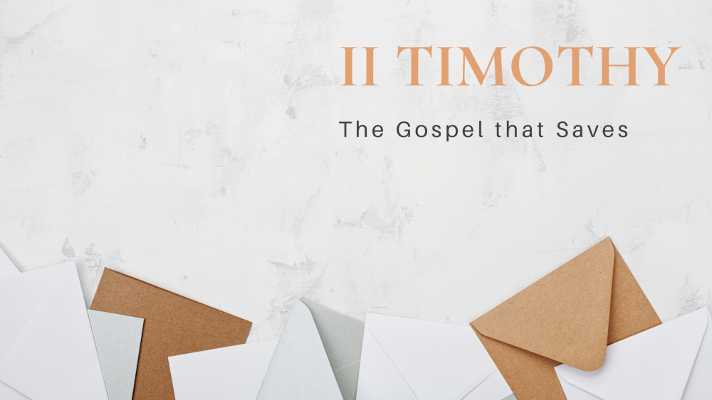 The Gospel that Saves Image